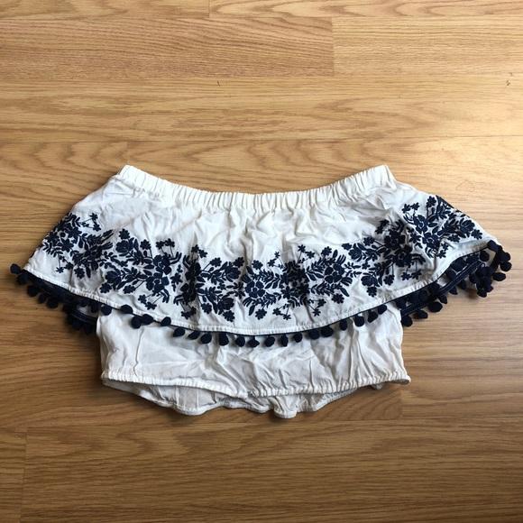 Show Me Your Mumu Womens Short/ Teagan Pom Crop Top